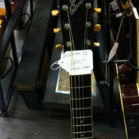 Photo taken at Austin Vintage Guitars by Matthew H. on 3/10/2012