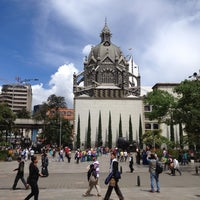 Photo taken at Plaza Botero by Edwin M. on 4/7/2012