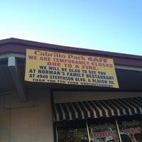 Photo taken at Cabrillo Park Café by El G. on 4/21/2012