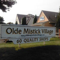 Photo taken at Olde Mystic Village by Traci H. on 8/24/2012