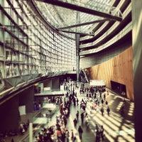 Photo taken at 東京国際フォーラム ガラス棟 by Keisuke H. on 4/1/2012