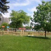 Photo taken at Parcul Centrul Civic by Valentin M. on 5/16/2012