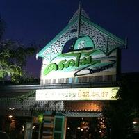 Photo taken at ครกไม้ไทยลาว by Narissara S. on 3/3/2012