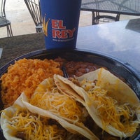 Photo taken at El Rey Taqueria by Melvin M. on 5/6/2012