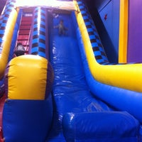Photo taken at Pump It Up by roxanne h. on 3/17/2012