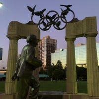 Photo taken at Centennial Olympic Park by Emerson S. on 9/10/2012