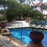 Photo taken at Sheraton Bandara Hotel by Andy R. on 3/31/2012