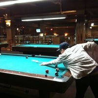 Photo taken at SoHo Billiards by Amanda A. on 4/14/2012