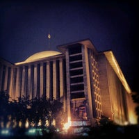 Photo taken at Masjid Istiqlal by fendyfendy f. on 8/14/2012