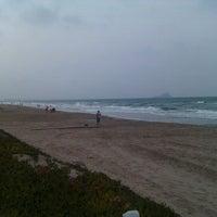 Photo taken at Playa del Tabal_La Manga by Jose Luis P. on 8/17/2012