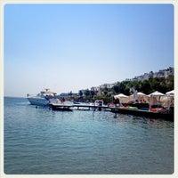 Photo taken at Mio Bianco Beach Club by tgc on 8/28/2012