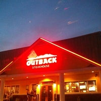 Photo taken at Outback Steakhouse by Sobe M. on 8/22/2012