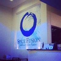 Photo taken at Spice Fusion by kristian p. on 4/23/2012