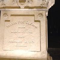 Photo taken at Grave of Edgar Allan Poe by krissy m. on 6/17/2012