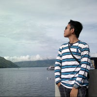 Photo taken at KMP Ferry Tao Toba Ajibata by Abbas K. on 8/25/2012