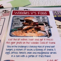 Photo taken at Woodies Longboard Diner by Forbes C. on 7/11/2012