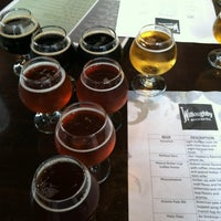 Photo taken at Willoughby Brewing Company by Jordan M. on 8/11/2012