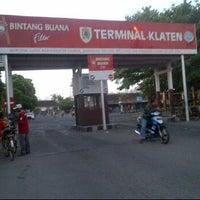 Photo taken at Terminal Ir. Soekarno Kabupaten Klaten by Arek S. on 7/6/2012