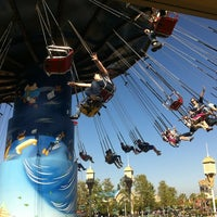 Photo taken at Silly Symphony Swings by Luis R. on 4/10/2012