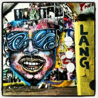 Photo taken at Krog Street Tunnel by Aja M. on 9/7/2012
