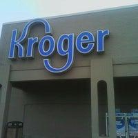 Photo taken at Kroger by Dora C. on 2/14/2012