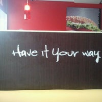 Photo taken at Burger King by SrySra S. on 5/13/2012