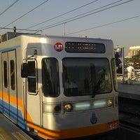 Photo taken at Merter Metro İstasyonu by kutay b. on 8/14/2012