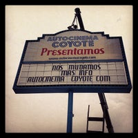 Photo taken at Autocinema El Coyote by Argel M. on 5/12/2012