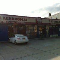 Photo taken at Super Bright 24 Hour Laundromat by Edwin U. on 7/12/2012