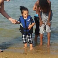 Photo taken at Windsurf Bay Park by Brandon S. on 5/5/2012
