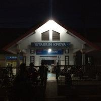 Photo taken at Stasiun Kroya by Iwan K. on 5/11/2012