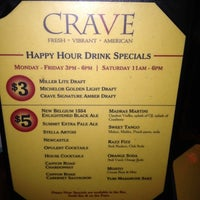 Photo taken at CRAVE Restaurant West End by Amy B. on 4/2/2012