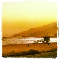 Photo taken at Pacific Palisades Beach by Michael R. on 5/15/2012