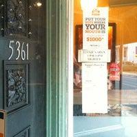 Photo taken at Vinnie's Pasta Bar by Dave K. on 3/25/2012