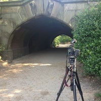 Photo taken at Endale Arch - Prospect Park by Brandon S. on 7/6/2012