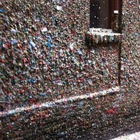 Photo taken at Gum Wall by Keith W. on 6/18/2012