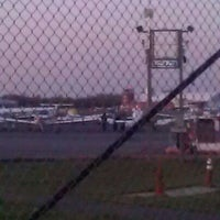Photo taken at Republic Airport (FRG) by Melissa S. on 4/13/2012