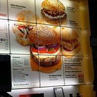 Photo taken at Hero Certified Burgers by Yonge S. on 5/9/2012
