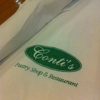 Photo taken at Conti's Bakeshop & Restaurant by Michelle 🌺 on 2/12/2012