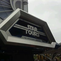 Photo taken at Star Tours - The Adventures Continue by Tisha D. on 6/19/2012