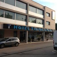 Photo taken at Hotel Tarraco Park Tarragona by Juan Ramon P. on 5/29/2012