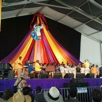 Photo taken at New Orleans Jazz and Heritage Festival by Mads-Christian M. on 4/28/2012