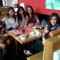 Photo taken at Basil Thai Nudle Bar by Afyra A. on 2/3/2012
