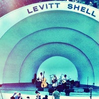 Photo taken at Levitt Shell by Brandi C. on 6/16/2012