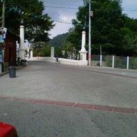 Photo taken at El Puente Blanco by Javier B. on 4/12/2012