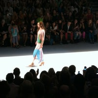 Photo taken at The Stage At MBFW by Fashion Herald on 9/8/2012