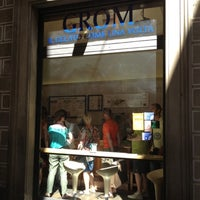 Photo taken at Grom by Noel T. on 7/30/2012