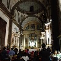 Photo taken at Templo Santa Catalina de Siena by Inti A. on 4/6/2012