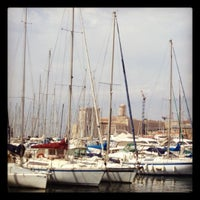 Photo taken at Old Port of Marseille by Kristine G. on 8/30/2012