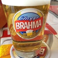 Photo taken at Quiosque Chopp Brahma by Raquel V. on 2/15/2012